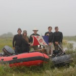 Photo of Fara Heim team at Marsh Point
